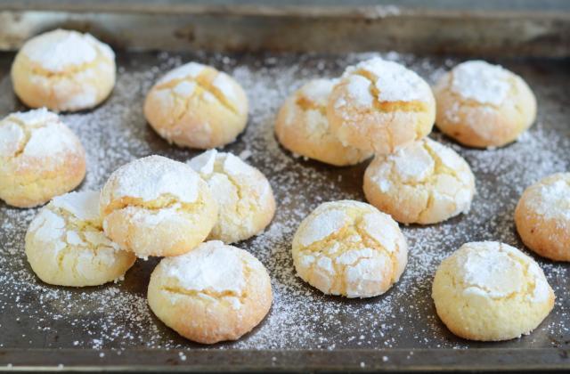 Crinkles au citron - Photo par Nadia Paprikas