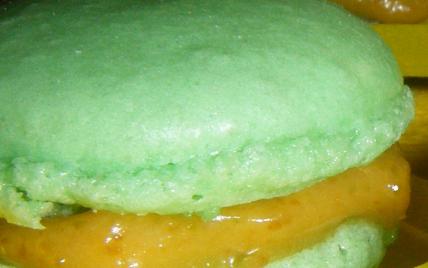 Macarons à la pistache classiques - Photo par annebetty