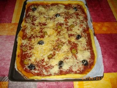Pizza au thon express - Photo par carla0