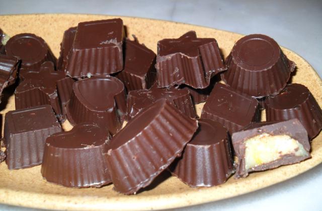 Chocolat noir et à la creme de citron - Photo par DALILA34