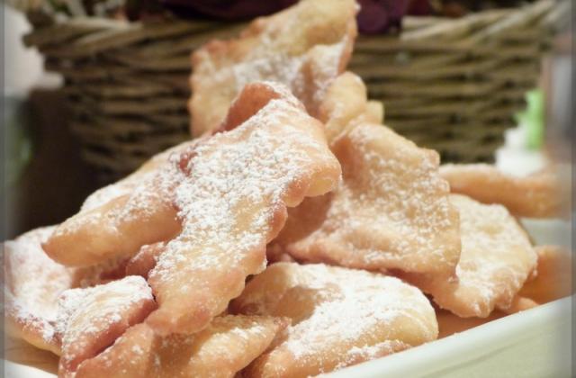 Les ganses de Carnaval (pâte légère) - Photo par l