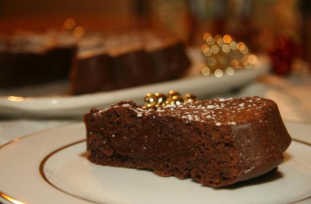 Fondant chocolat, crème de marron - Photo par jackieyZ