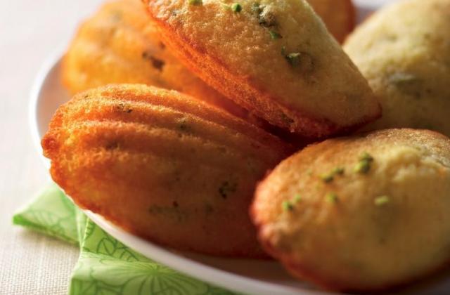 Madeleines à la pistache - Photo par Cedus Le sucre