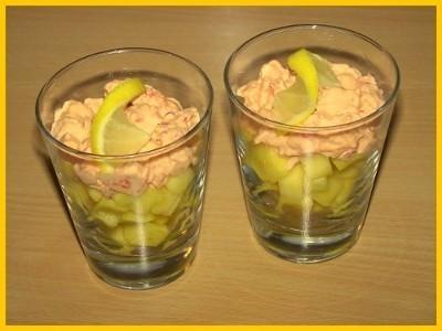 Cocktail d'écrevisses à la mangue maison - Photo par Titeratatouille