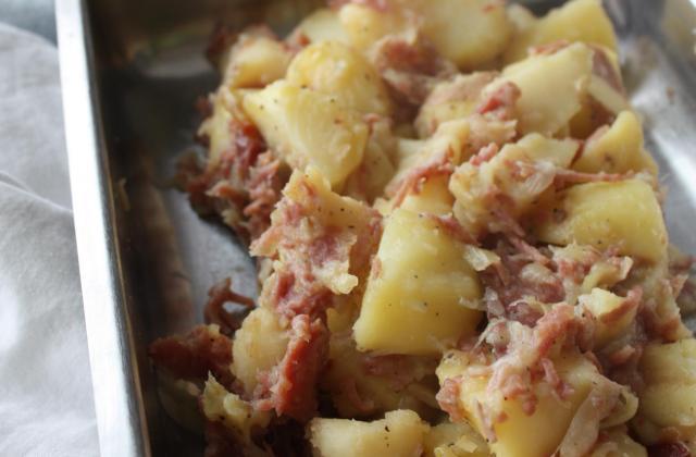 Pommes de terre aux lardons au thermomix - Photo par marinazb