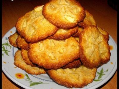Cookies pommes, miel et noix de coco - Photo par lilyra