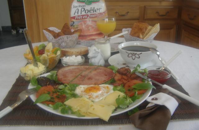 Un petit déjeuner plus que princier, Royal ! - Photo par findv