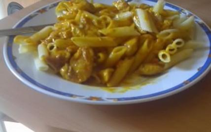Pâtes au curry - Photo par maxime0V