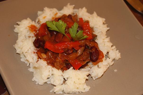 Chili con carne simple et délicieux - Photo par melpasl