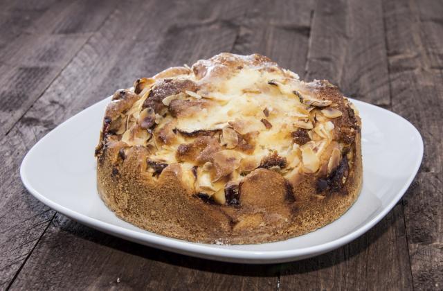 Gâteau pommes-amandes - Photo par Simone Panet