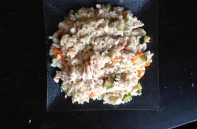 Risotto revisté au jus cuisine épinard,ail et menthe - Photo par emilieiE