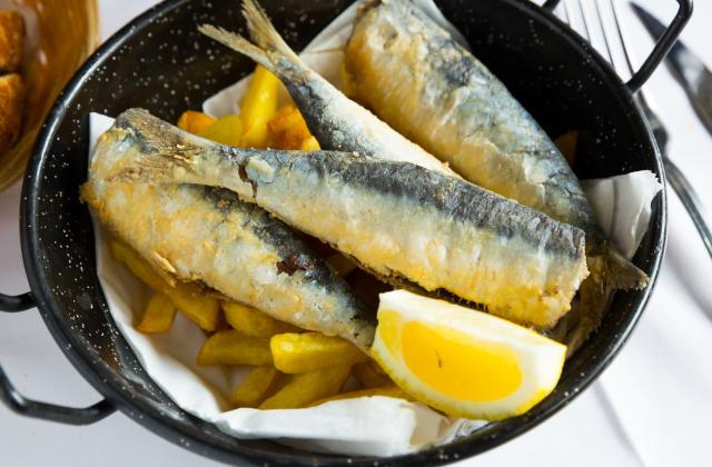 Sardines panées - Photo par 750g