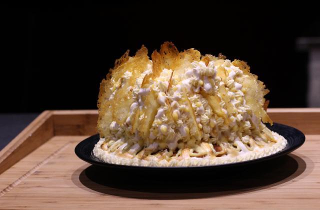 Gâteau d'anniversaire façon tarte au citron - Photo par A Prendre Sans Faim