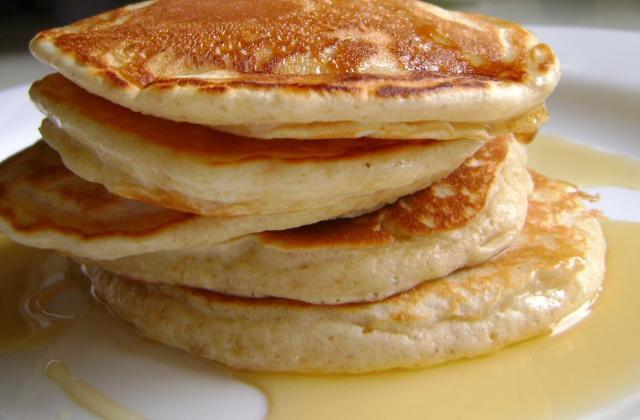 Pancakes légers et faciles - Photo par maevammO