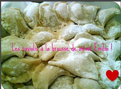 Raviolis à la brousse de ma mémé Emilia - Photo par 750g
