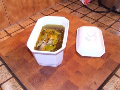 Foie gras de canard mi-cuit - Photo par lafermY