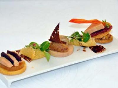 Trilogie évolutive autour du foie gras - Photo par 750g