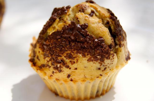Muffins au lait de coco et pépites de chocolat - Photo par La ptite cuisine de Pauline