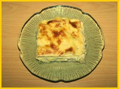 Lasagnes végétariennes courgettes et chèvre frais - Photo par Titeratatouille