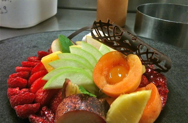 Assiette aux 7 fruits - Photo par annickkP