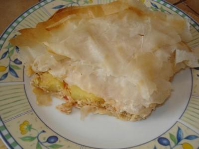 Pastilla au filet de Panga et pommes de terre - Photo par delphinetika