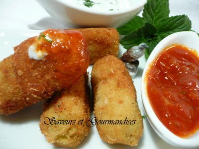 Bonbons d'avocat parmentier (pommes de terre à la sauce tomate) - Photo par Nadji.