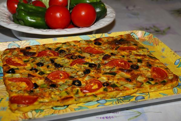 Tortilla aux saveurs du Sud et chorizo - Photo par jackieyZ