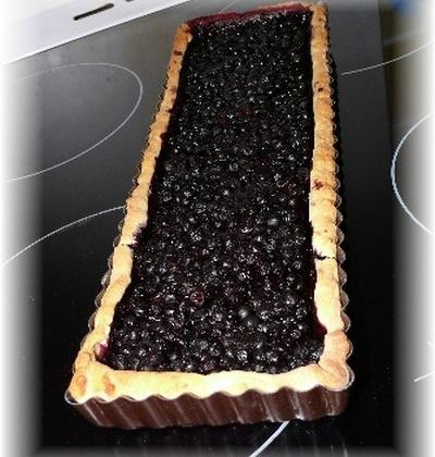 Recette traditionnelle de la tarte aux myrtilles - Photo par delf745