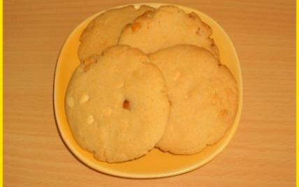 Cookies au beurre de cacahuètes et chocolat blanc - Photo par biscottine