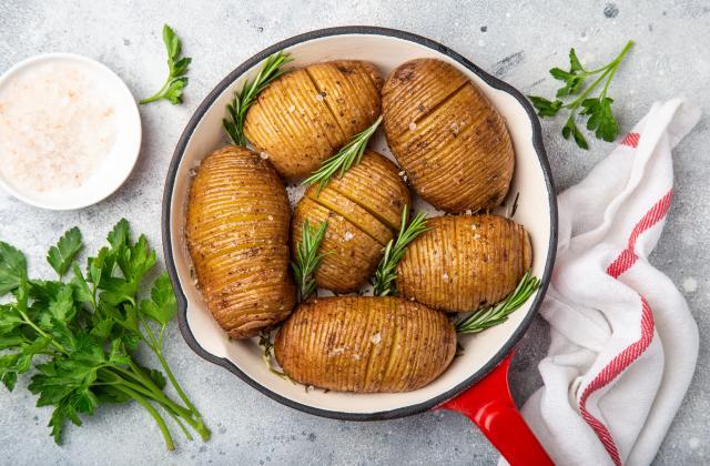 Pommes de terre hasselback - Photo par 750g
