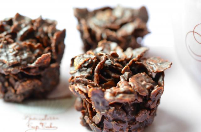 Roses des Sables aux corn'flakes amandes et chocolat - Photo par marmiton gourmand