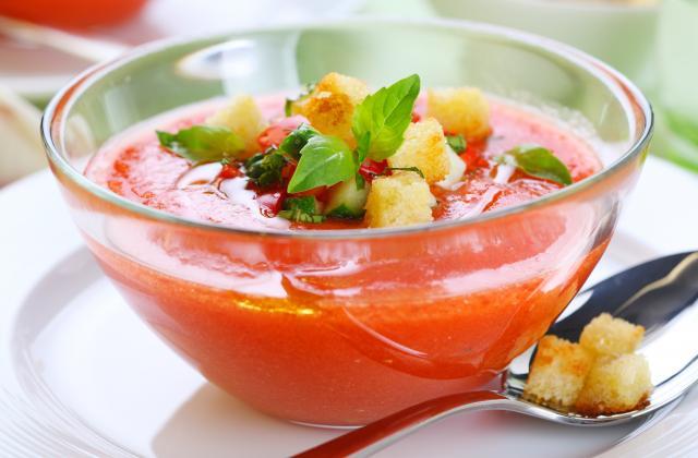 5 trucs à ajouter dans votre gaspacho pour le rendre inoubliable - Photo par 750g