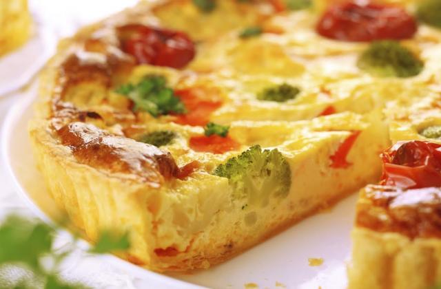 Tarte brocolis et tomates - Photo par 750g