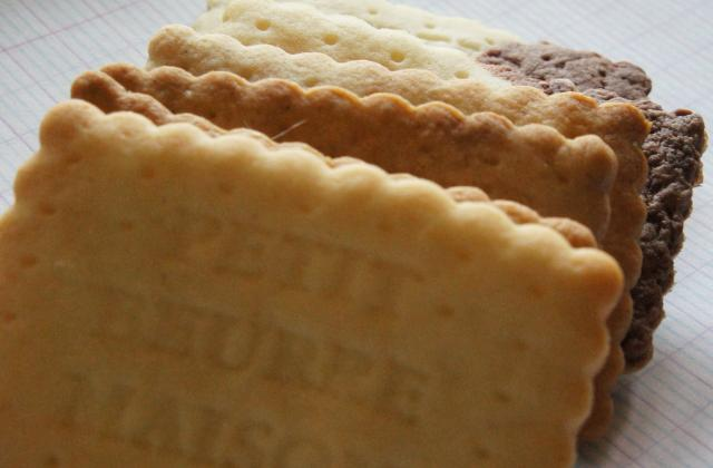 Petits-beurre, c'est moi qui les ai fait... - Photo par le book gourmand