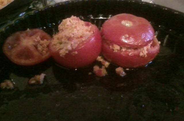 Tomates farcies express - Photo par noemievE