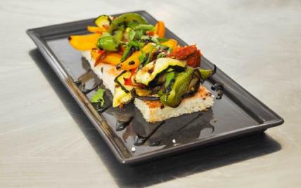 Bruscheta de légumes grillés express - Photo par Orts