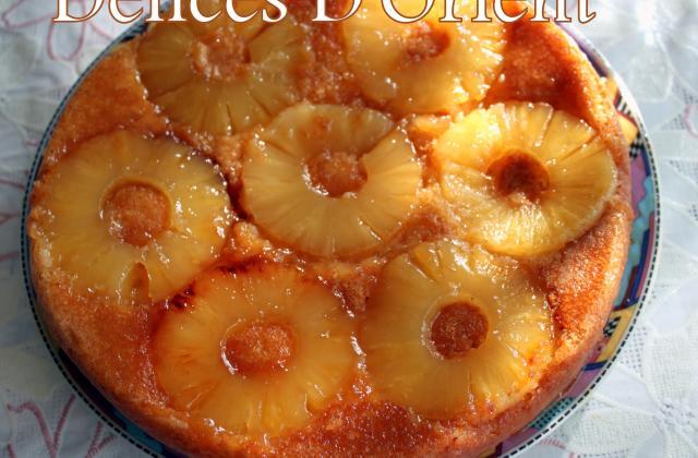 Gâteau renversé - Photo par dlicesdorient