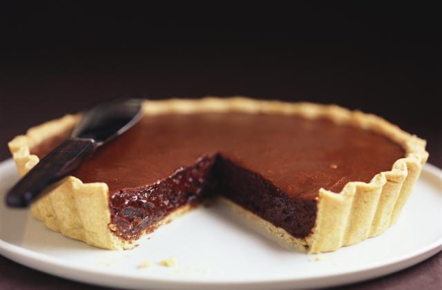 Tarte au chocolat noir - Photo par yann19K