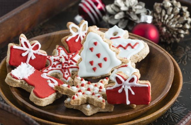 Sapin de Noël aux amandes et à la clémentine - Photo par 750g