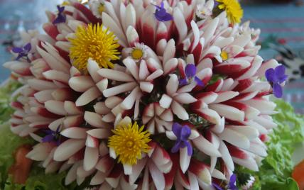 Bouquet croquant nature - Photo par christababelle