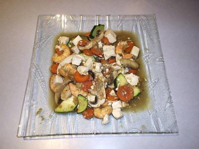 Sauté de légumes au tofu - Photo par oliviegU