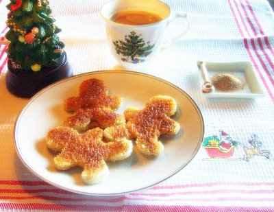 Toasts à la cannelle (Cinnamon Toast) - Photo par louisep