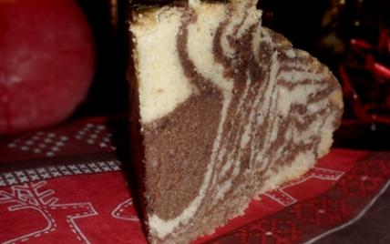 Gâteau Marbré Italien - Photo par mathildee