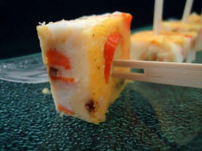 Flan de courgettes et surimi - Photo par fimere2