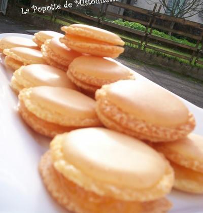 Macarons à la clémentine - Photo par Alexandra Armanelli