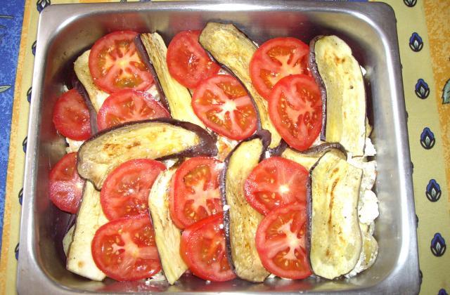 Tian d'aubergines au fromage de brebis facile - Photo par modema