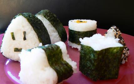 Mes premiers onigiri - Photo par audreycuisine