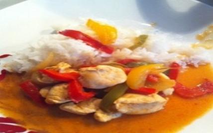 Poulet à la thaï - Photo par abonne