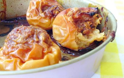 Pommes au four à la pâte de spéculoos - Photo par bellelurette