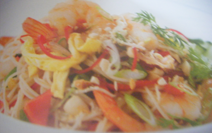 Salade Indonésienne au crevettes - Photo par soulie6
